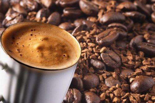 Зерновой и сублимированный кофе