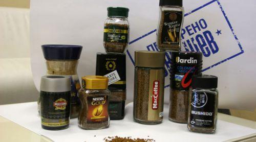 Растворимый кофе разных брендов