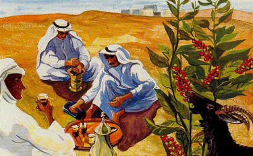 Заваривание кофе в Эфиопии