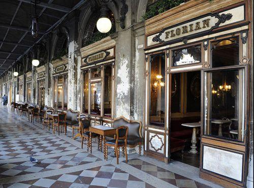 Кофейня в Венеции