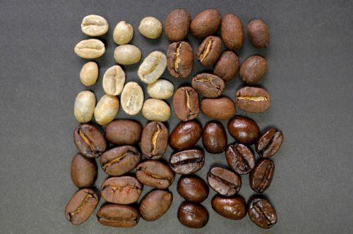 Степени обжарки кофейных зерен