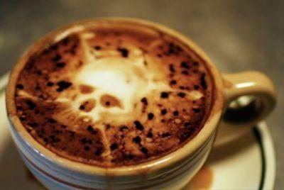 Чашка кофе с пенкой
