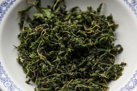 Ферментированный лист земляники