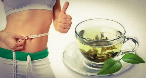 Похудение с зеленым чаем