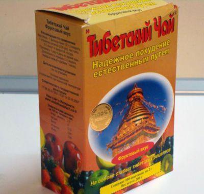 Упаковка тибетского чая