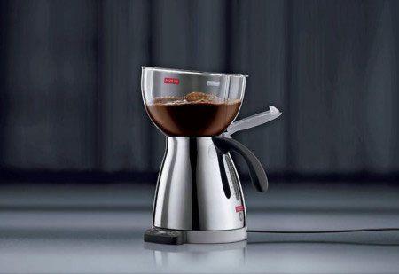 Варка кофе в кофеварке