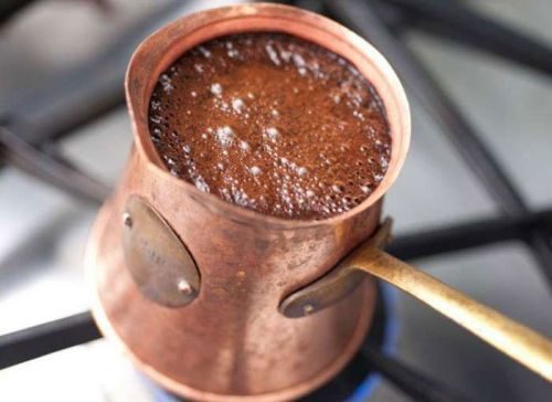 Кофе с пенкой в турке