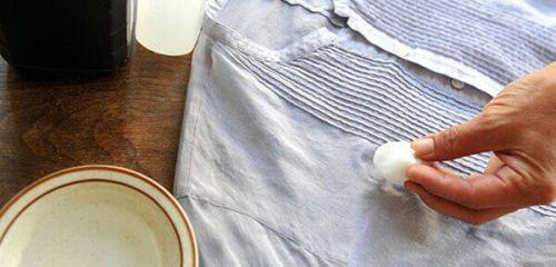 Как вывести пятно от чая, способы отстирать с белых вещей