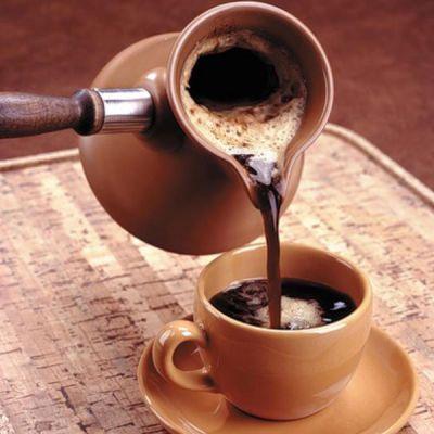 Натуральный кофе из турки