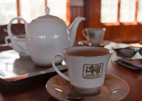 Чашка с цейлонским чаем