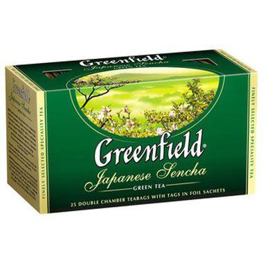 Зеленый чай Гринфилд в пакетиках