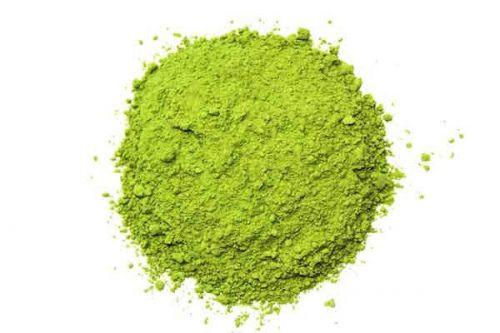 Зеленый чай в порошке