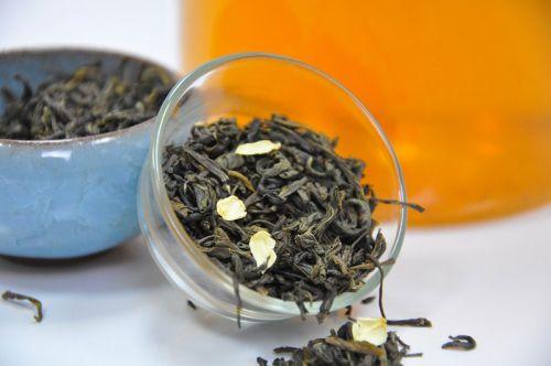 Китайский зеленый чай с жасмином