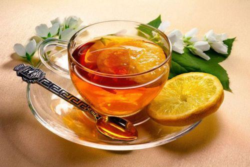 Чашка бодрящего чая