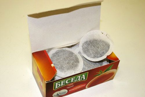 Чай Беседа в круглых пакетиках