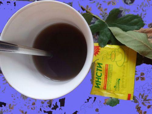 Чай Инсти в чашке