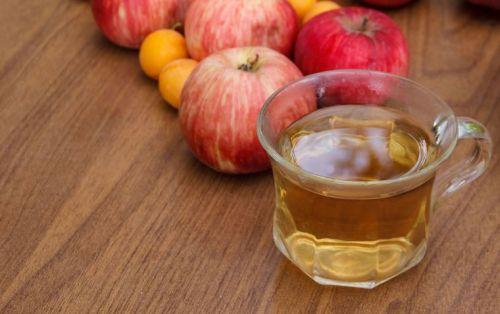 Яблоки и чай