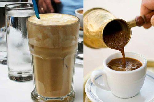 Приготовление кофе к турке с густой пенкой