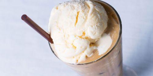 Фраппе с мороженым