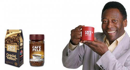 Пеле и его кофе