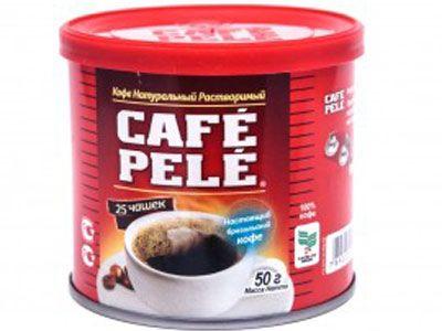 Банка кофе Пеле