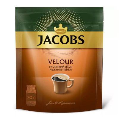 Кофе Якобс Велюр в мягкой упаковке