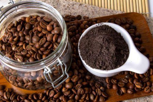 Зерновой и молотый натуральный кофе