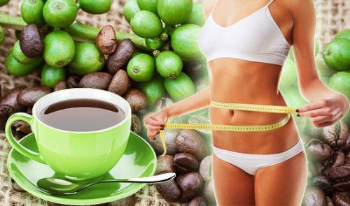 Зелыные кофейные зерна и похудение