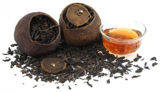 чай и плоды
