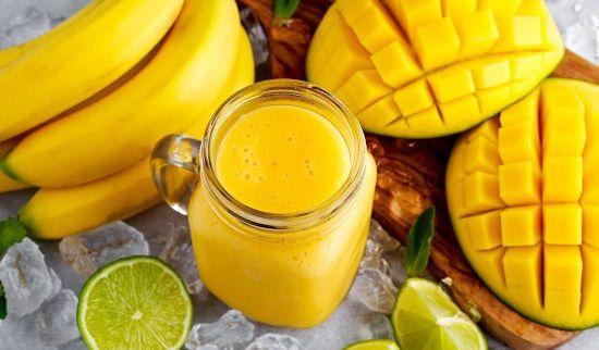 Смузи из манго и бананов