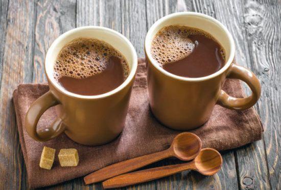 Две чашки какао