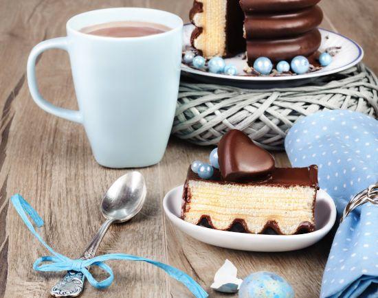 Какао тортиком