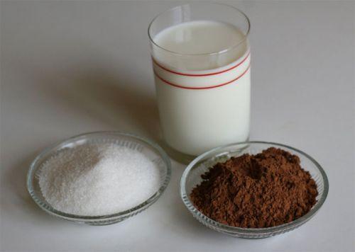 Ингредиенты для какао