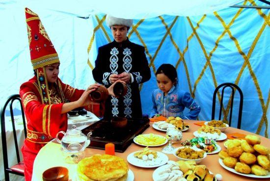 Чаепитие в Казахстане