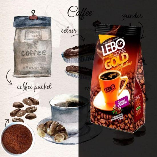 кофе с круассаном
