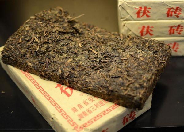 Зеленый плиточный чай