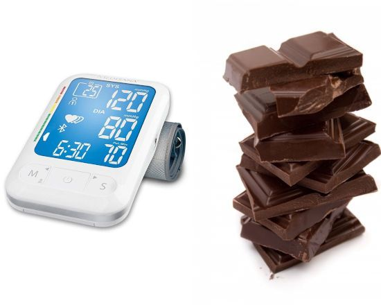 Шоколад и аппарат давления
