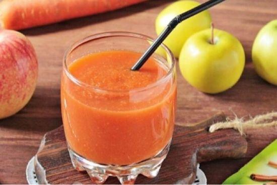 Смузи из моркови и яблок