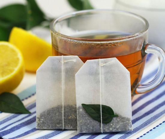 пакетики чая