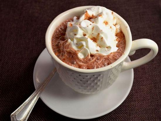 Какао со сливками