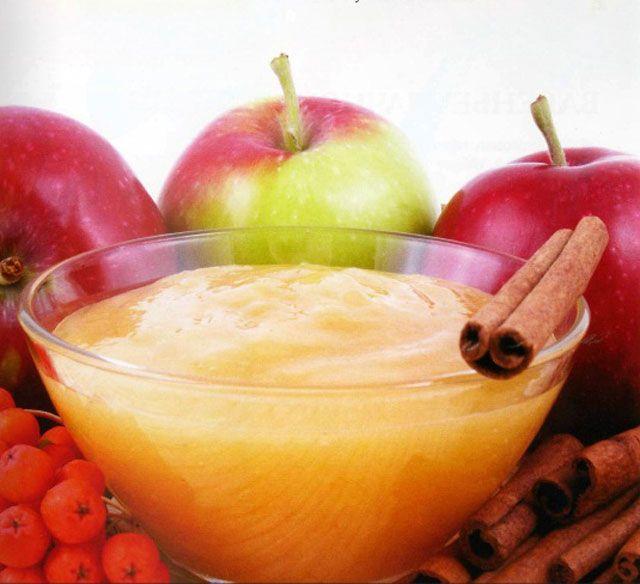 Яблочный кисель с корицей