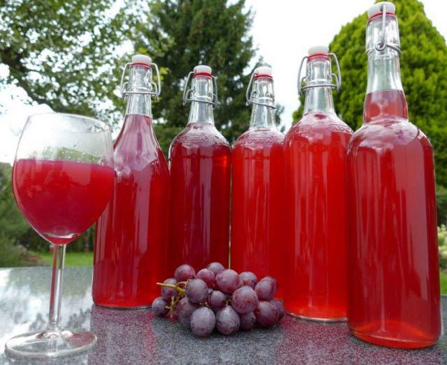 Вино из виноградного компота