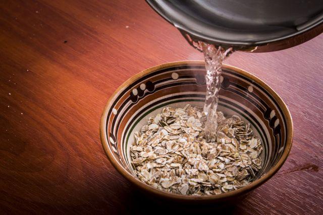 Ингредиенты для овсяного киселя