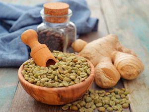 Зеленый кофе и имбирь
