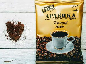 упаковка кофе Lebo