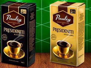 Кофе Президент от Паулиг