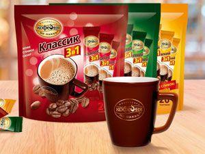Кофе в пакетиках три в одном