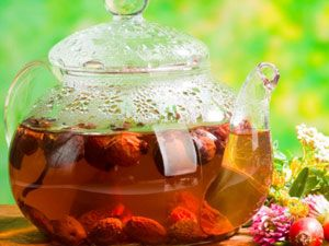 Чай с лекарственными растениями