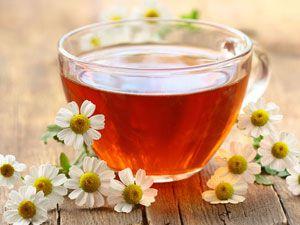 Чай с ромашкой