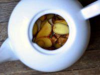 Заваривание имбирного чая